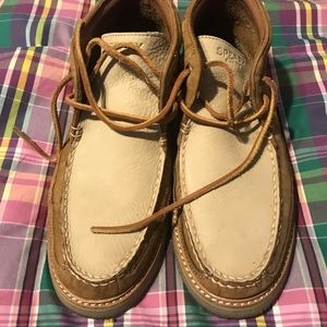 Sperry chukka boots, size 8.5 for man.